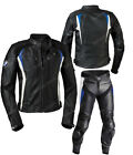 BMW Motorbike Leather Suit Sport Motorcycle Racing Leather Jacket Pant Armors