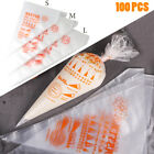Kyпить 100 Thick Plastic Disposable Pastry Bag Icing Piping Cake Cupcake Decorating Bag на еВаy.соm