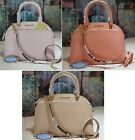MICHAEL KORS EMMY LARGE CINDY Dome CROSSBODY Bag In Various Colors Leather $378