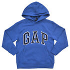 Gap Boys Hoodie Kids Pullover Sweatshirt Long Sleeve Jacket Small Blue Cold New