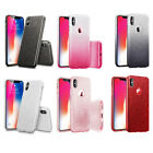 Shiny Bling Hybrid Shockproof Thin Soft TPU Gel Cover for Apple iPhone X