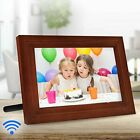 "iCozy Digital Touch-Screen 10"" Picture Frame with Wi-Fi - All Colors - MFRB"