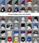 LEGO - Minifigure Headgear - PICK YOUR STYLE - Cowboy Hat Castle City Ninjago