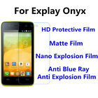 3pcs For Explay Onyx High Clear/Matte/Nano Explosion/Anti Blue Ray Screen Film