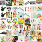 Lots Styles Ballpoint Gel Pen Pencil Writing Stationery Student Office Supplies