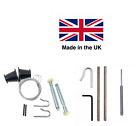 NEW HENDERSON FULL REPAIR KIT Cables & Rollers (Nuts) garage door spares parts