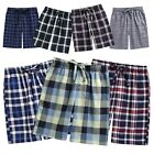 TINFL Men's Soft Cotton Plaid Check Lounge Pajama Sleepwear Shorts MSP-SB