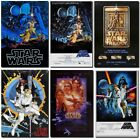 Star Wars IV A New Hope 12x8inch Movie Silk Poster Door Wall Decals Art Print $1.31 CAD on eBay