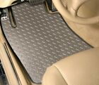 4-Piece Set - DIAMOND PLATE - Vinyl Floor Mats- CUSTOM Fit - Mini/Austin