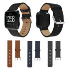 New Soft Wrist Leather Watch Band For Fitbit Versa Buckle Strap Bracelet  image