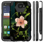 Untouchble Case For LG K4, Zone 3, Spree Hybrid Dual Layer Kickstand Girly Cover