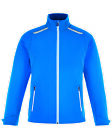 North End Sport Red Excursion Men's Soft Shell Jacket Laser Stitch Accents 88693