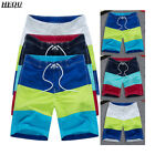 Fashion Quick Dry Swim Beach Shorts Men's Surf Board Shorts Father's Day Gift