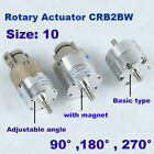 Rotary Actuator Single vane CRB2BW/CDRB2BW10-90 Double shaft rotary air cylinder