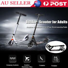 Folding Scooter Commuter Big Wheel Suspension Fashion Scooter Adult Child AU