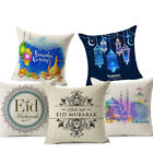 Ramadan Kareem Cushion Cover Eid Mubarak Lantern Cotton Decorative Pillows Cover