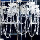 100 100cm Plastic Crystal Bead Chandelier Garland Hanging Wedding Curtain Decor