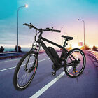 350W Electric Mountain Bike Cycling Bicycle 36V Lithium Battery Ebike Road city