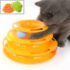 Tower Ball and Track Cat Toy Roller Super Fun 3 Level Pet Pl