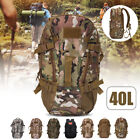 40L Military Tactical Molle Outdoor Mountaineer Backpack Camping Hiking Travel