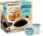 cinnamon cinnabon - Cinnabon Classic Cinnamon Roll Coffee 18 to 90 Keurig K cups Pick Any Quantity