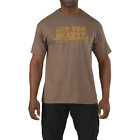 5.11 Tactical Are You Ready T-Shirt  Brown Heather  NEW