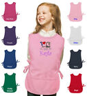 childrens personalised aprons - Personalized Kids Art Smock Cobbler Apron Monogrammed for Boys & Girls