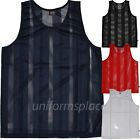 Mens Sleeveless T shirts Mesh Jersey Basketball Big & Tall Tee size XL to 6XL image