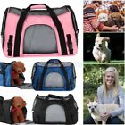 Large Microfiber Pet Carrier Soft Sided Cat/Dog Comfort Travel Tote Shoulder Bag