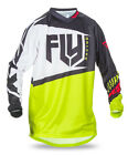 Fly 2017 F-16 MX Motocross MTB Downhill Youth Jersey Black/Lime