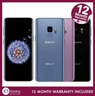 Samsung Galaxy S9 SM-G960F 64GB Mobile Smartphone Black/Purple Unlocked/O2