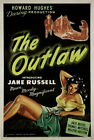 132406 The Outlaw 1943 Jane Russel Howard Hughes west Decor WALL PRINT POSTER UK