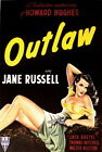 133281 The Outlaw 1943 Jane Russel Howard Hughes west Decor WALL PRINT POSTER UK