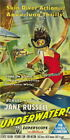 131469 Howard Hughes Underwater! Jane Russell Decor WALL PRINT POSTER UK