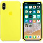 US Genuine Original Ultra Thin Silicone Case For Apple iPhone XR XS X 7 6 8 Plus
