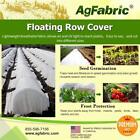 Agfabric Warm Worth Row Cover 0.55oz for Frost Protection Seed Germination