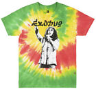 BOB MARLEY EXODUS 1977 WORLD TOUR T-SHIRT TIE DYE REGGAE ROOTS MUSIC TEE MENS image