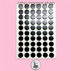 Self Adhesive Magnets - PICK YOUR SHAPES AND SIZES - Sticky Craft Magnetic Round <br/> Free UK Delivery