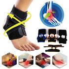 Foot Drop Orthotic Correction Ankle Support Brace Plantar Fasciitis Sports Wraps on eBay