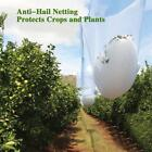 Agfabric Anti-Hail Netting,Hail Protect Garden Netting, Wind Protection White