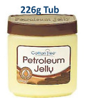 Premium quality Cotton Tree Petroleum Jelly with Coco Butter 226g Tub