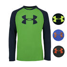 Внешний вид - Under Armour Boys' Two-Tone Big Logo L/S T-Shirt
