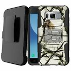 For [Samsung Galaxy S7 Edge / S7+] Heavy Rugged Shockproof Stand Holster Case