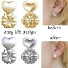 1pair Magic Bax Earring Backs Lifters Firmly Support Lifts Gold Silver Jewerly