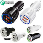 Dual USB Fast Charging Car Charger Adapter for iPhone 7 8 X Samsung Galaxy S8/S9