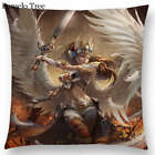 Fantasy Chronicles Goddess Fairy Angel Wings Valkyrie Gorgeous Cushion Cover