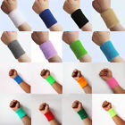 2X Sport Basketball Unisex Cotton Sweat Band Sweatband Wristband Wrist Bands