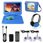 "KOCASO 9"" Portable Kids DVD Player With Headphones Game Controller Carrying Bag"