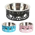 Stainless Steel Non Slip Pet Dog Small Puppy Feeding Bowls Food Drink Dish
