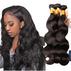 3 Bundles 300g Body Wave Natural Color 100% Brazilian Human Hair Extensions Weft